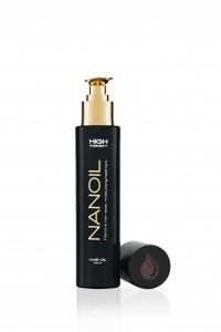 naturalny olejek do włosów Nanoil